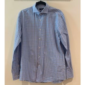Gingham Hugo Boss Slim Fit Button Up Shirt